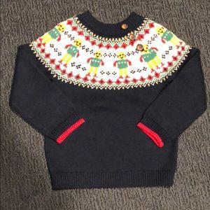 Baby Boden Fair Isle Design Sweater - Never Worn!